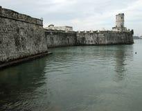 Fortificazione San Juan De Ulua-Messico fotografia stock