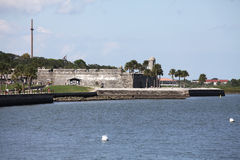 Fortificazione spagnola fotografie stock