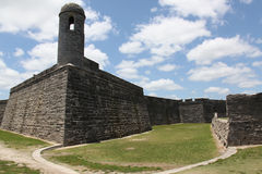 Fortificazione spagnola immagini stock