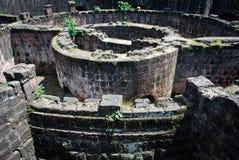 Fortificazione spagnola rovinata Fotografia Stock Libera da Diritti