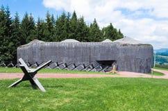 Fortificazione Stachelberg dell'artiglieria Fotografie Stock