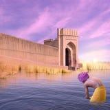 Fortificazione su Gange Fotografia Stock Libera da Diritti