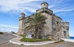 Fortificazione sulla linea costiera Fotografia Stock