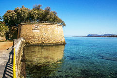 Fortificazione veneziana in Chania Immagini Stock