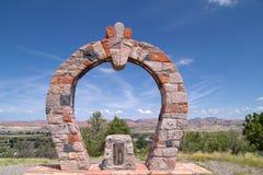 Fortificazione Wingate, indicatore storico Fotografia Stock Libera da Diritti