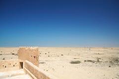 Fortificazione Zubara immagini stock libere da diritti