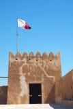Fortificazione Zubara immagini stock