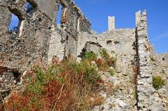 Fortificazioni delle rovine di Cirella, Cosenza, Calabria Immagine Stock Libera da Diritti
