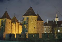 Fortificazioni di Città Vecchia Fotografia Stock Libera da Diritti