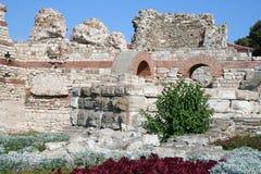 Fortificazioni in Nessebar Fotografie Stock Libere da Diritti