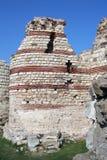 Fortificazioni in Nessebar Fotografia Stock Libera da Diritti