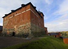 Fortifichi Hameenlinna. La Finlandia. Immagine Stock