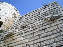 Fortifichi i Chevaliers del DES di Krak (Al Hosn del kalaat) in Siria Fotografia Stock Libera da Diritti