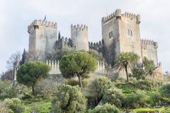 Fortifichi il del Rio di Almodovar a Cordova, Spagna Fotografia Stock