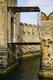 Fortifichi in Italia - Sirmione, Lago di Garda Fotografie Stock Libere da Diritti