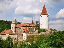 Castello Krivoklat Immagine Stock