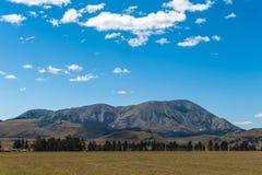 Fortifichi la collina in alpi del sud, Arthur& x27; la s passa, isola del sud della Nuova Zelanda Fotografia Stock