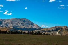 Fortifichi la collina in alpi del sud, Arthur& x27; la s passa, isola del sud della Nuova Zelanda Immagini Stock Libere da Diritti