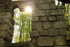 Fortifichi le rovine Fotografia Stock