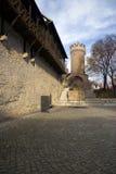 Fortifichi Pulverturm Jena fotografia stock