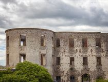 Fortified building ruins Stock Photos