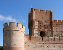 Fortified castle Stock Photography
