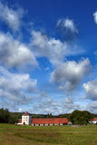 Fortified castle of Hovdala, south Sweden. Stock Photography