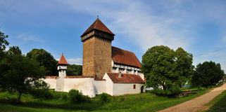 Fortified church Stock Photos