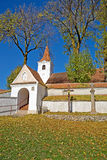 Fortified church Stock Image
