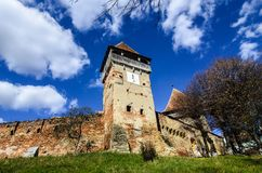 Fortified Church of Alma Vii Royalty Free Stock Photography