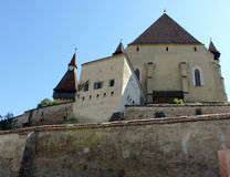 Fortified church of Biertan Stock Photo