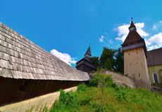 Fortified church of Biertan, Romania Stock Photo