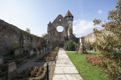 Fortified church at Câr�a, Romania Royalty Free Stock Photos