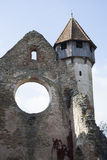 Fortified church at Câr�a, Romania Royalty Free Stock Image