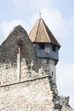 Fortified church at Câr�a, Romania Stock Images