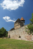 Fortified church at Cârța, Romania. Cârţa Monastery is a former Cistercian (Benedictine) monastery in the Ţara Făgăraşului region in southern Royalty Free Stock Images
