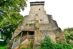 The fortified church of Chirpăr. Royalty Free Stock Photography