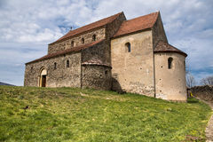 Fortified Church in Cisnadioara Royalty Free Stock Photos