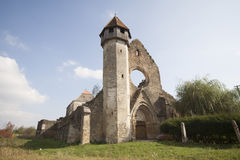 Fortified church at Cârța, Romania Royalty Free Stock Photography