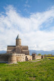 Fortified church in Georgia, Transcaucasus Stock Images