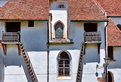 Fortified Church Stock Photography