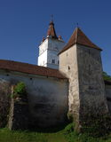 Fortified church of Harman Royalty Free Stock Photography