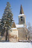 Fortified church of Nocrich, Transylvania Royalty Free Stock Photos