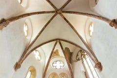 Fortified church in Prejmer Stock Photo