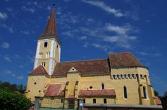 Fortified church of Sura Mare, Stock Photos