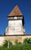 Fortified church in Transylvania, Merghindeal Stock Photography