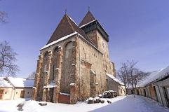 Fortified church in Transylvania Romania Royalty Free Stock Image