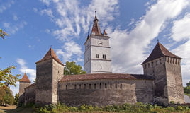 Fortified church in Transylvania, Romania Royalty Free Stock Images