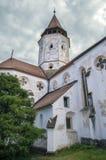 Fortified church in Transylvania, Romania Stock Photo