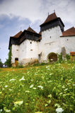 Fortified church in viscri Royalty Free Stock Image